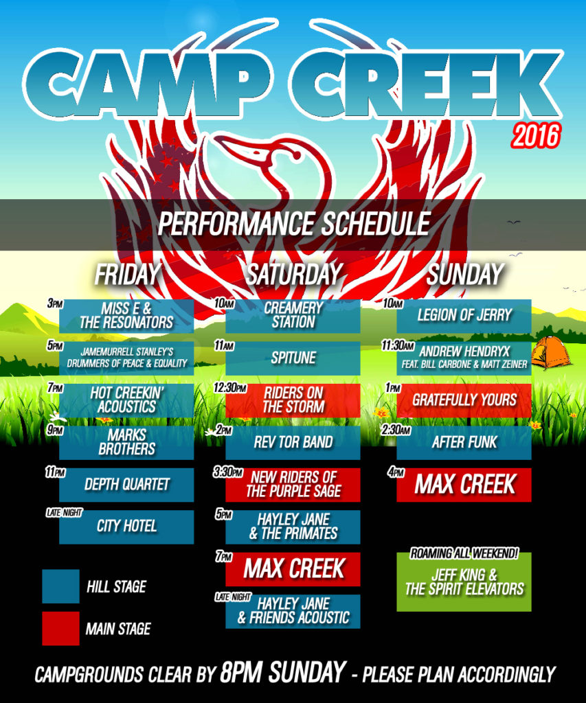 CampCreek-Schedule