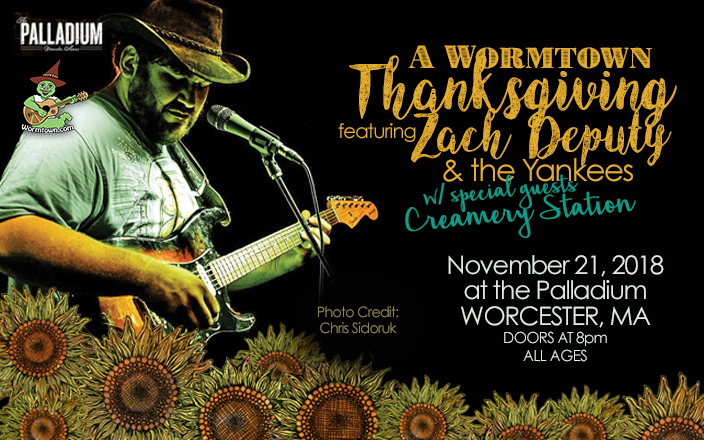 Tis the Season.. Join us for A Wormtown Thanksgiving!