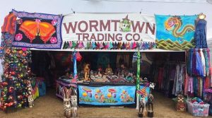 Wormtown Trading Co. booth