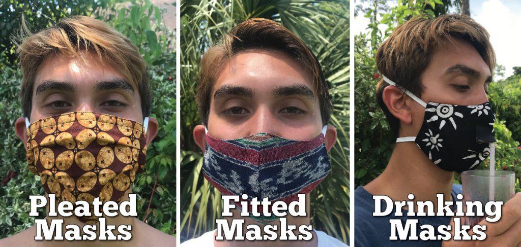 3 types of masks