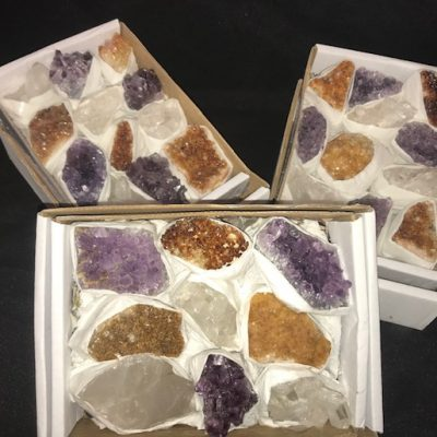 Crystals, mixed box