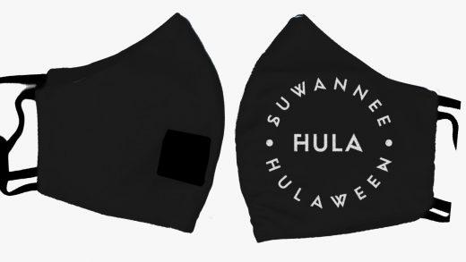 Suwannee Hulaween Drinking Mask